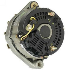 if connecting to the alternator, simply connect the black wire from the  tachometer to the w terminal on the alternator