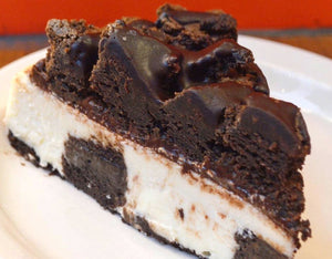 "BROWNIE EXPLOSION 6"" CHEESECAKE 24OZ"