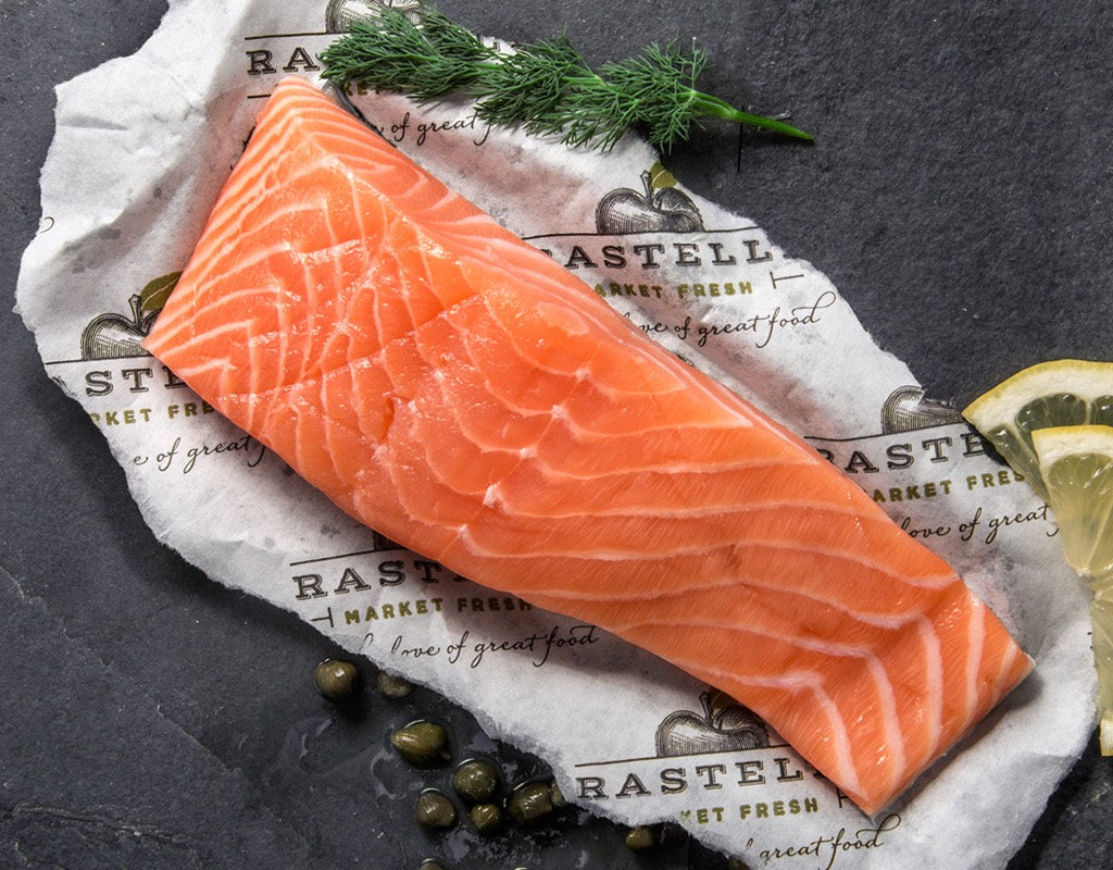 FAROE ISLAND SALMON FILET 170G