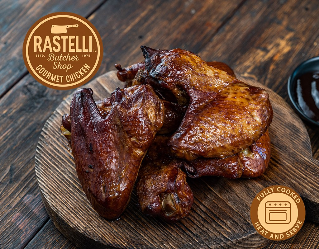 APPLEWOOD SMOKED WINGS 450G