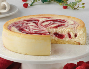 "RASPBERRY SWIRL 6"" CHEESECAKE 24OZ"
