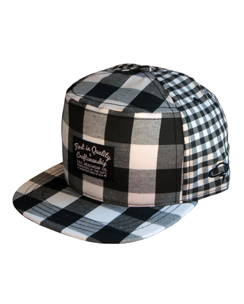 The Ampal Creative GRAYSCALE Snap Back