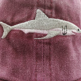 Shark Embroided Strapback