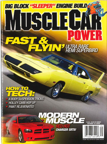 Muscle Car Power October 2007
