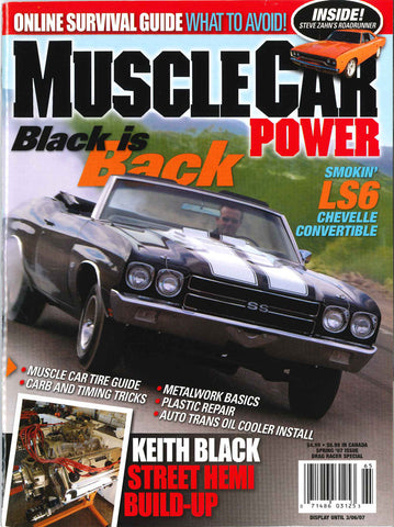 Muscle Car Power Spring  2007