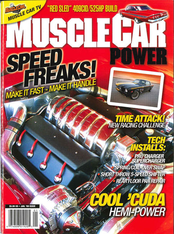Muscle Car Power January 2009