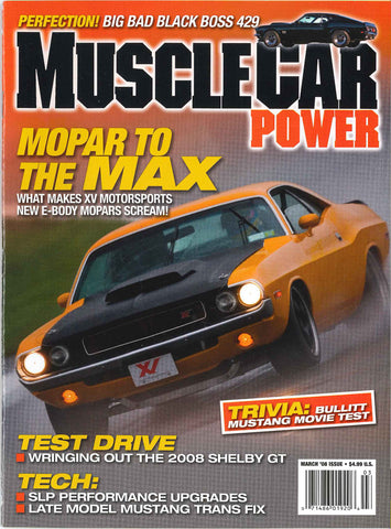 Muscle Car Power March 2008