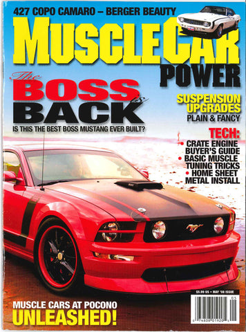 Muscle Car Power May 2008