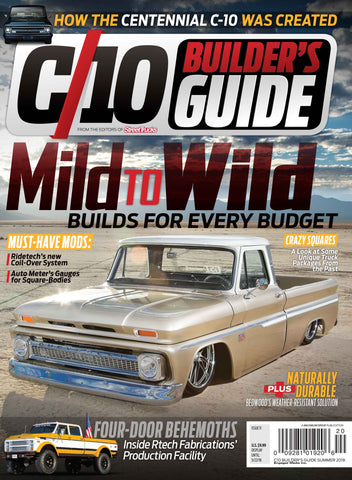 C10 Builder's Guide Print Subscription