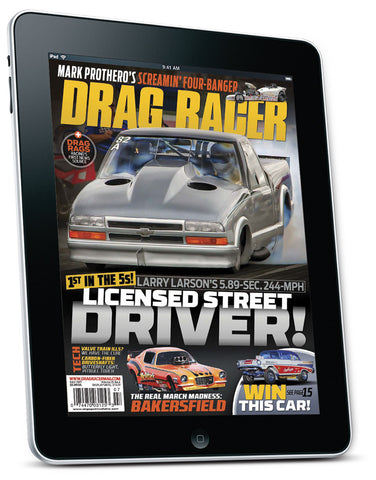 Drag Racer July 2017 Digital