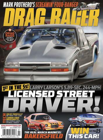 Drag Racer annual Subsscription