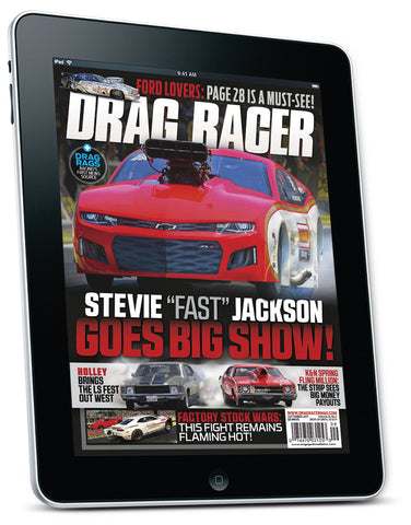 Drag Racer September 2017 Digital