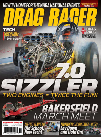 Drag Racer July 2016