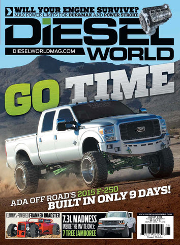 Diesel World August 2016