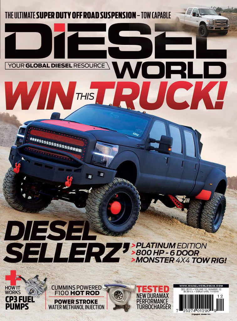 diesel world dec 2015 get up to on cover price. Black Bedroom Furniture Sets. Home Design Ideas