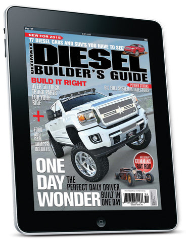 Ultimate Diesel Builder's Guide Aug/Sep 2015 Digital