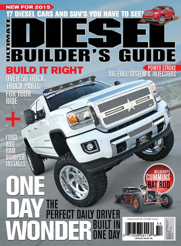 Ultimate Diesel Builder's Guide Aug/Sep 2015