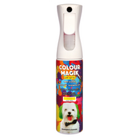 Colour Magik Pet Spray Canary Yellow