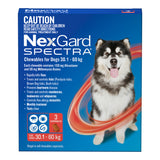 NexGard Spectra Red 30.1-60gs 3pk
