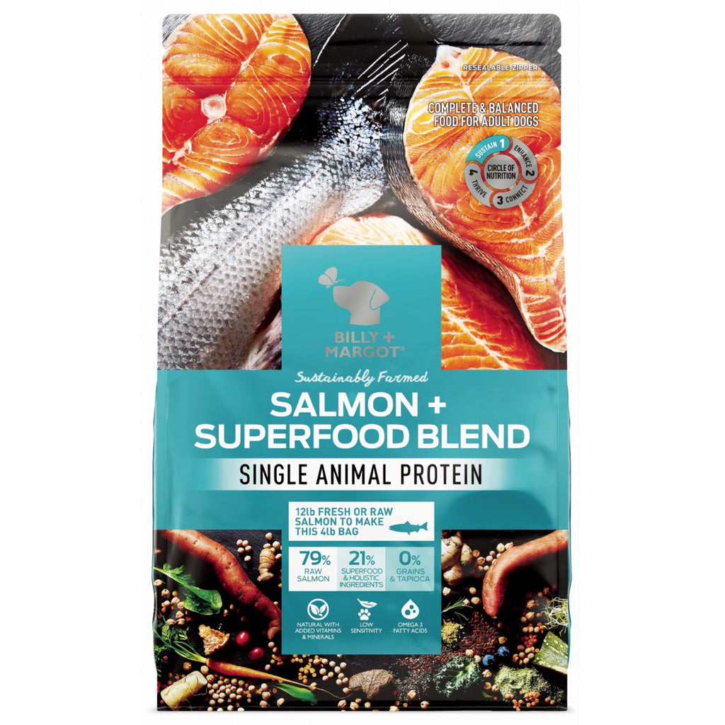 Dog Dry Food Billy & Margot Salmon & Superfood Blend 1.8kg