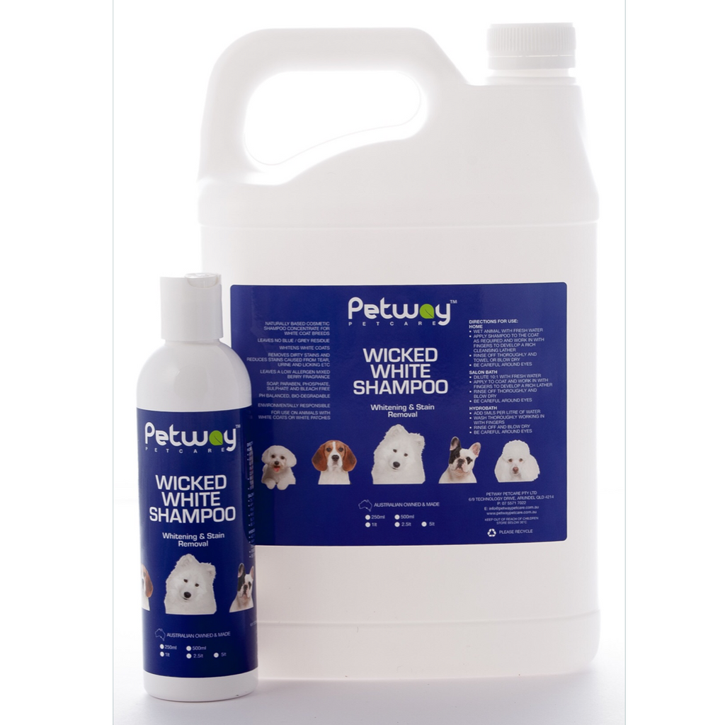 Petway Wicked White Shampoo