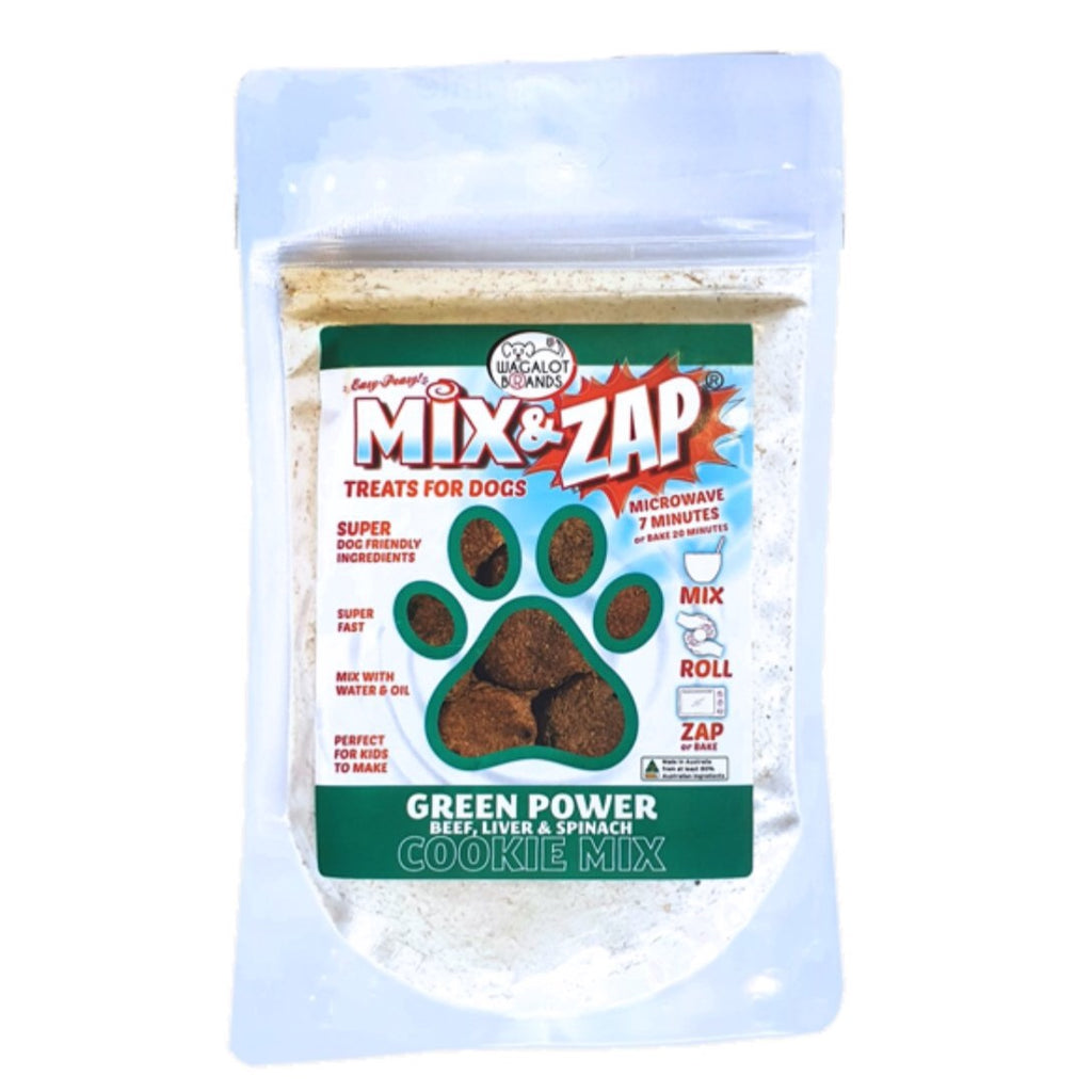 Wagalot Mix & Zap Cookie Mix Green Power