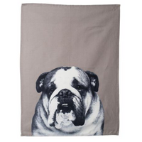 Mog & Bone Dog Breeds Tea Towel Bulldog