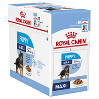 Royal Canin Maxi Puppy Loaf 140g x 10 Tray