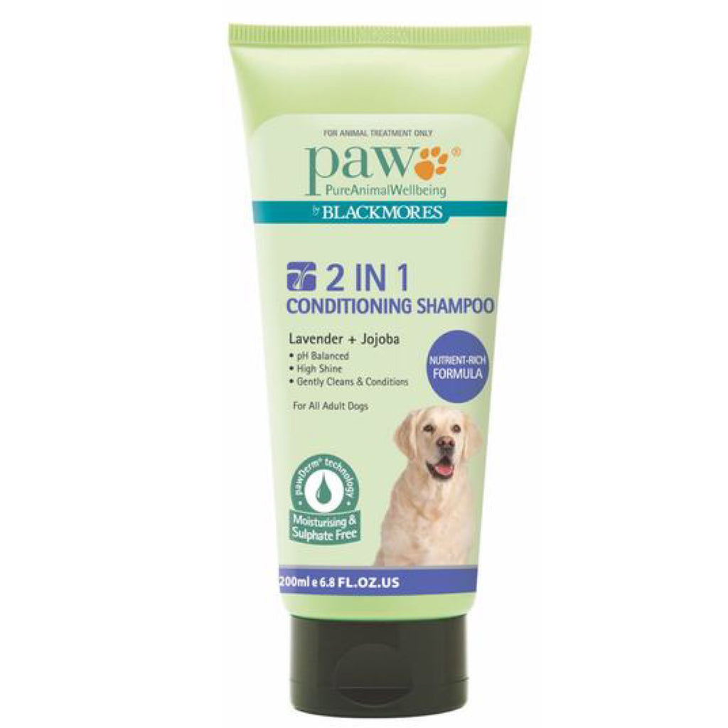 Paw 2 in 1 Conditioning Shampoo 250ml
