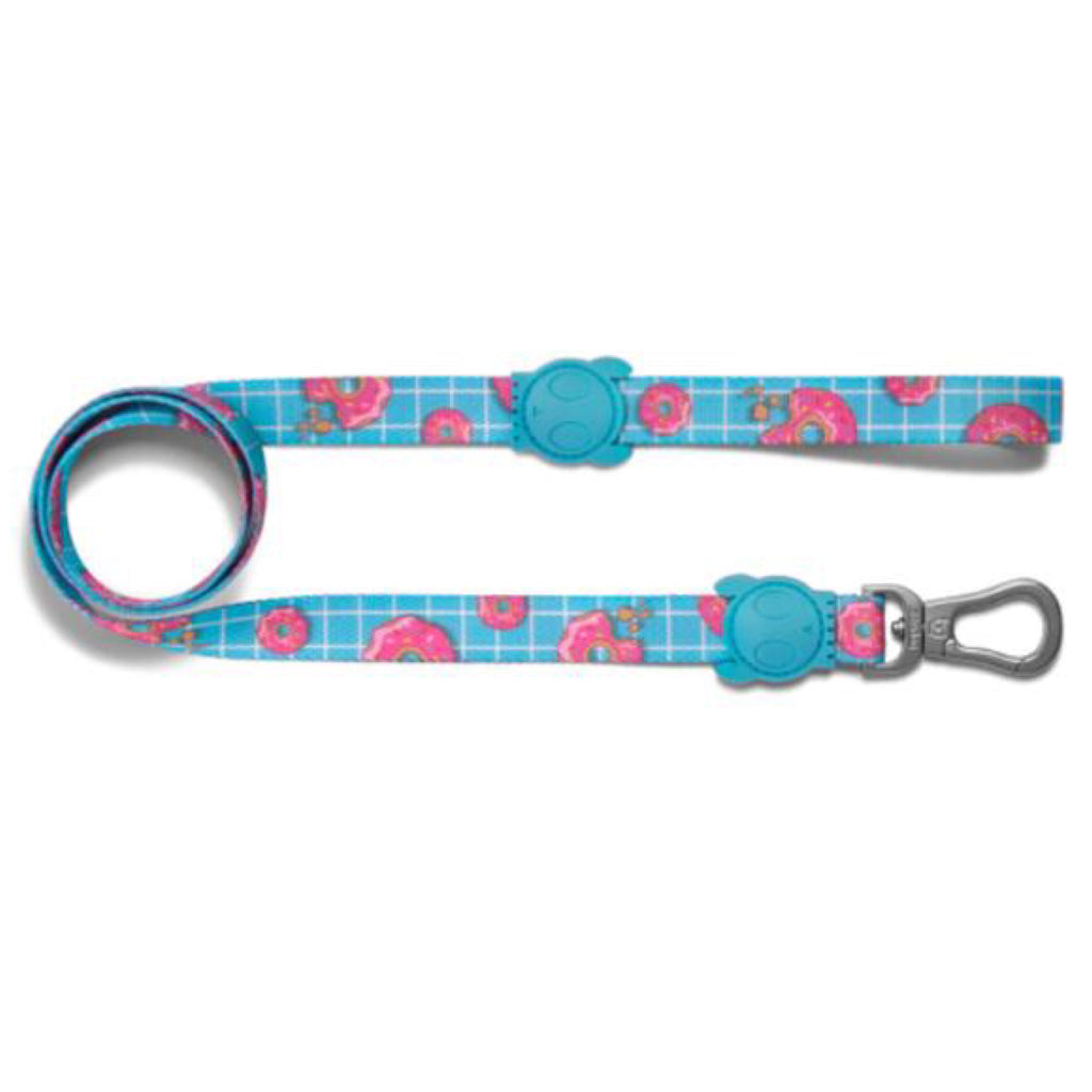 Dog Leash Zee Dog Donut Print