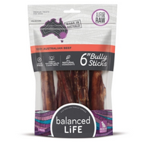 Balanced Life Bully Sticks 6 Inch 7pk