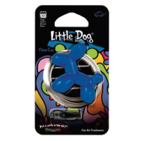 Little Dog Car Air Freshener Blue New Car