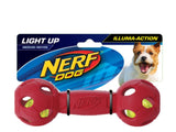 Nerf Dog Light Up Bash Barbell Medium
