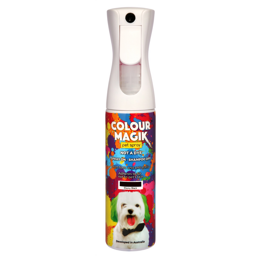Colour Magik Pet Spray Ebony Black