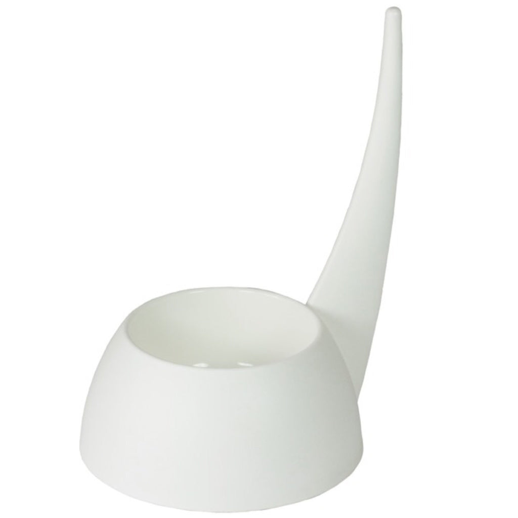 United Pets Tail Bowl 500ml White