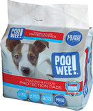 Poo Wee Training and Floor Protection Pads 14pk