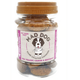 Mad Dog Cookies Red Velvet, Carob & Beetroot