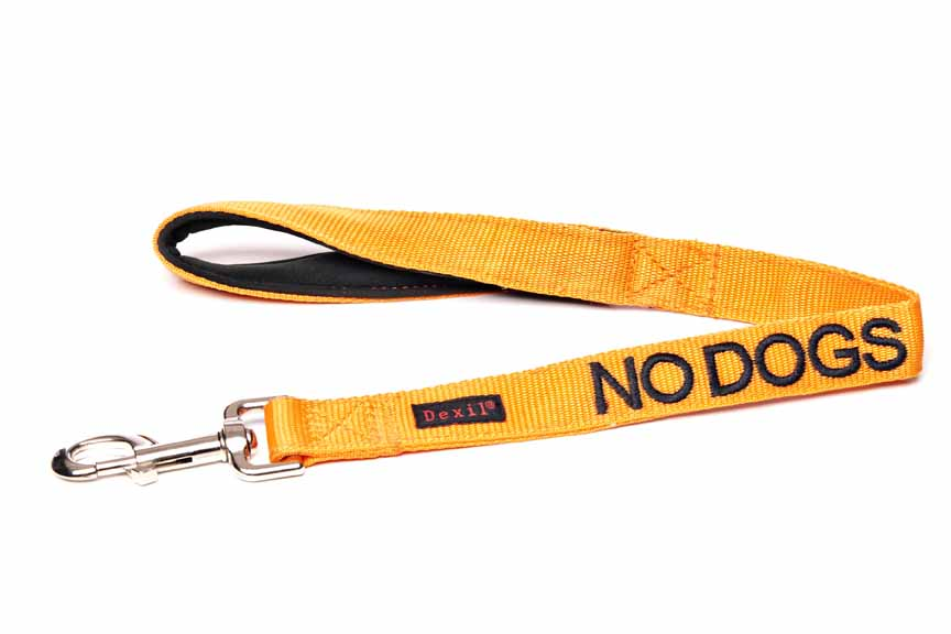 Friendly Dog Collars Lead 60cm No Dogs