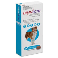 Bravecto Chewable Tablet Blue 20-40kg