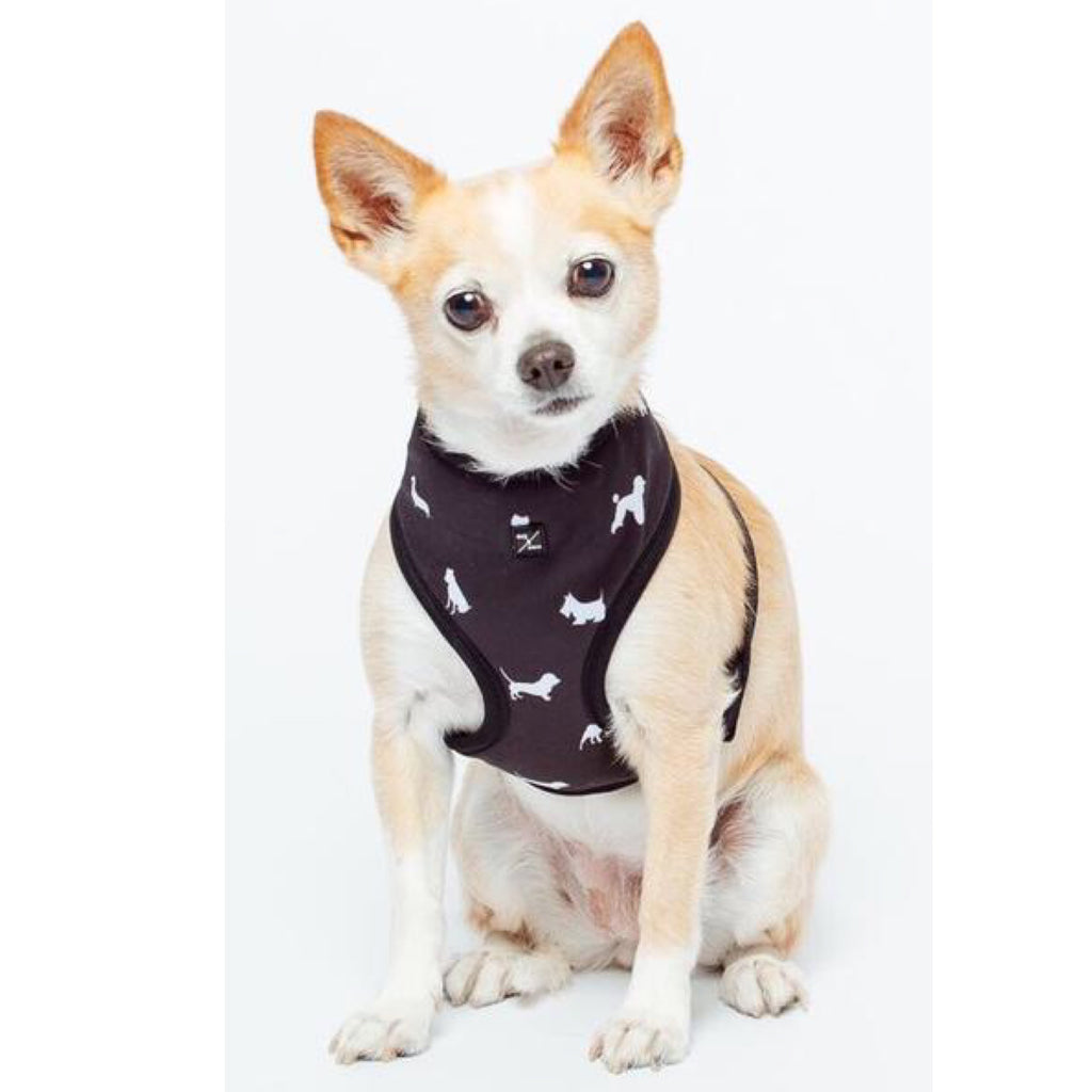 Mog & Bone Neoprene Dog Print Harness