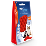 Pet+Me Firm Red Brush