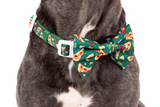 Big & Little Dogs Collar & Bow Tie Pupperoni Pizza