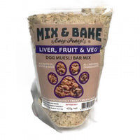 Wagalot Mix & Bake Muesli Bar Liver, Fruit & Veg 400g