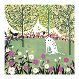 Whistlefish Dalmation's Ball Everyday Card
