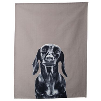 Mog & Bone Dog Breeds Tea Towel Dachshund