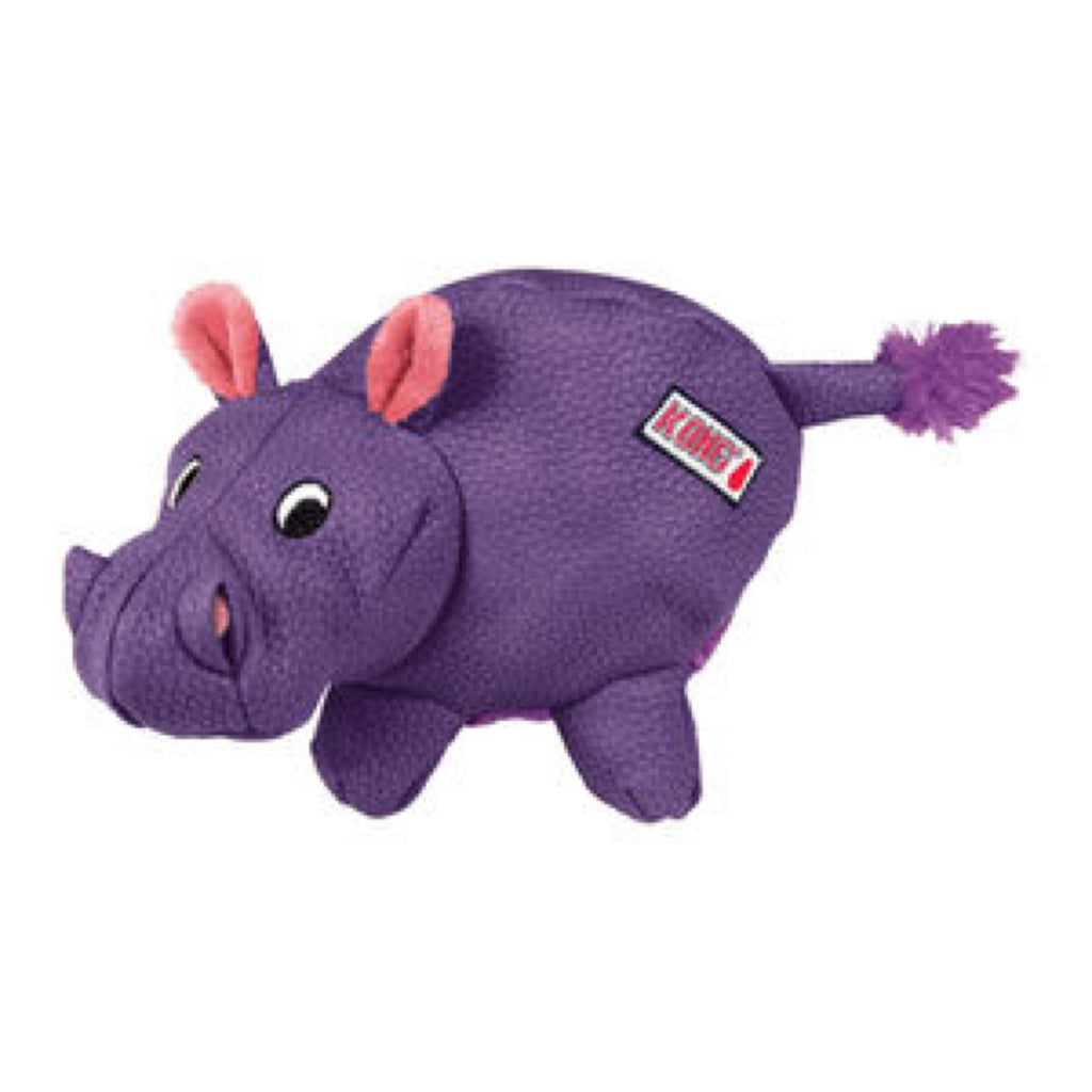Dog Plush Toy KONG Phatz Hippo