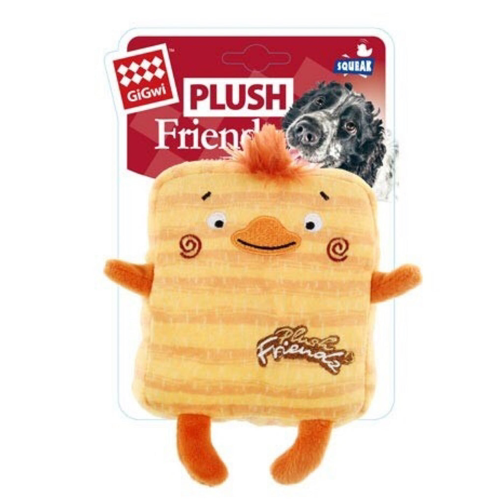 Gigwi Plush Friends Square Duck