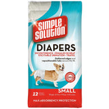 Simple Solution Disposable Diapers 12pk Small
