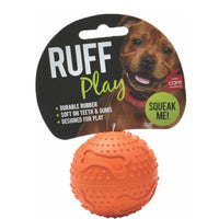 Ruff Play Rubber Ball Small Orange 6cm