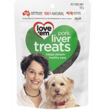 Love Em Pork Liver Treats 55g
